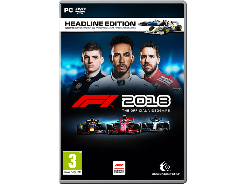 F1 2018 Headline Edition PC VR gaming games pc games