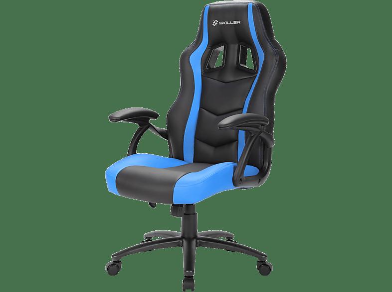 SHARKOON SGS 1 Black/ Blue gaming απογείωσε την gaming εμπειρία gaming chairs