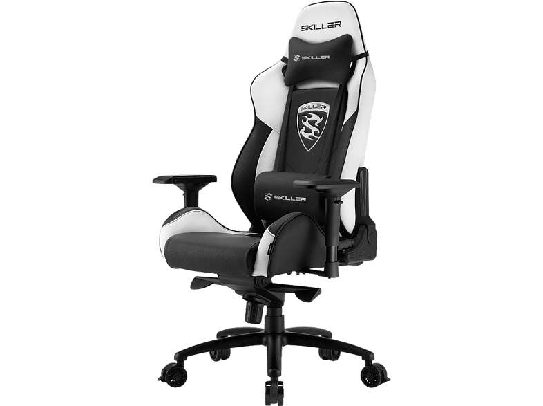 SHARKOON SGS 3 Black/ White gaming απογείωσε την gaming εμπειρία gaming chairs