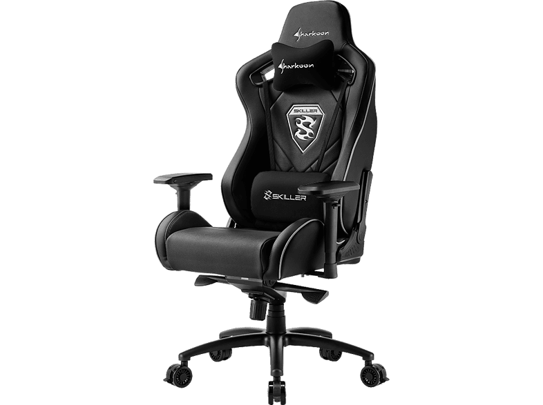 SHARKOON SGS 4 Black gaming απογείωσε την gaming εμπειρία gaming chairs