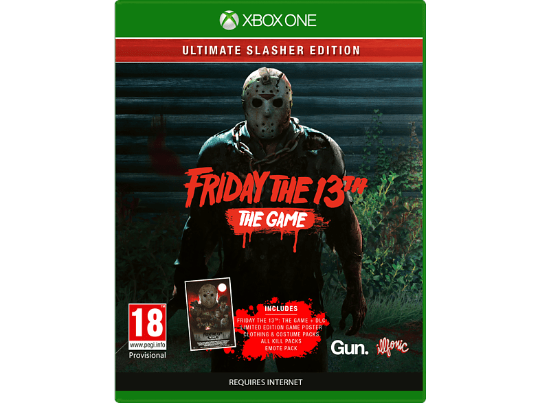 Friday The 13th Ultimate Slasher Xbox One gaming games xbox one games