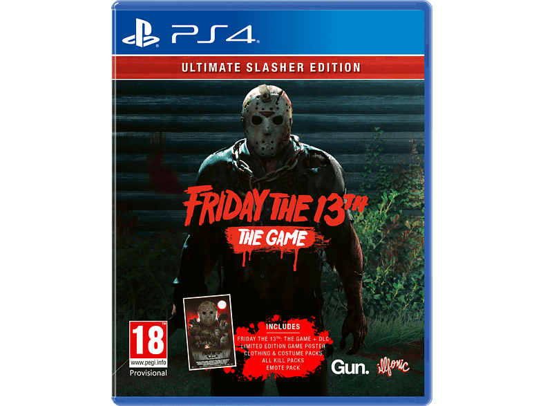 Friday The 13th Ultimate Slasher PlayStation 4 gaming games ps4 games