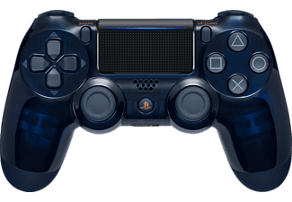 SONY PS4 Wireless Dualshock - 500 Million Limited Edition, Controller, Navy Blue/Transparent