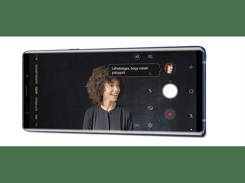 SAMSUNG Galaxy Note9 (SM-N960) Dual SIM lila 128GB kártyafüggetlen okostelefon