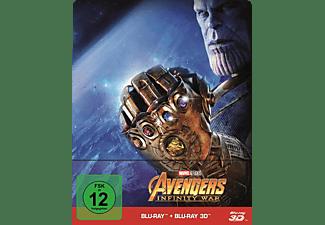 Avengers: Infinity War (Steelbook) - (3D Blu-ray (+2D))