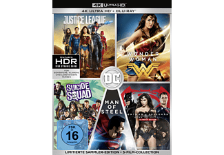 DC 5-Film Collection (Limitierte Exklusivedition) (10 Discs) - (4K Ultra HD Blu-ray + Blu-ray)