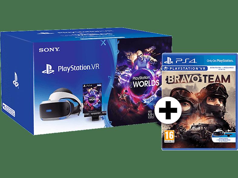 SONY PlayStation VR Headset / Camera V2 / VR Worlds μαζί με Bravo Team gaming απογείωσε την gaming εμπειρία αξεσουάρ ps4