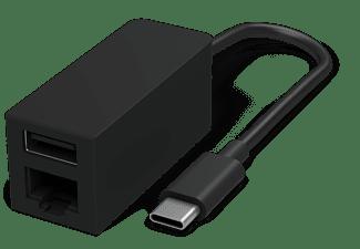 Microsoft USB Adapter [1x USB-C stekker 1x RJ45-bus, USB 3.0 bus A] Surface Adapter