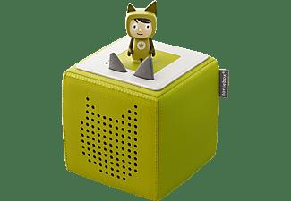 Audiosystem Tonies Toniebox - Starterset - Grün inkl. Kreativ Tonie