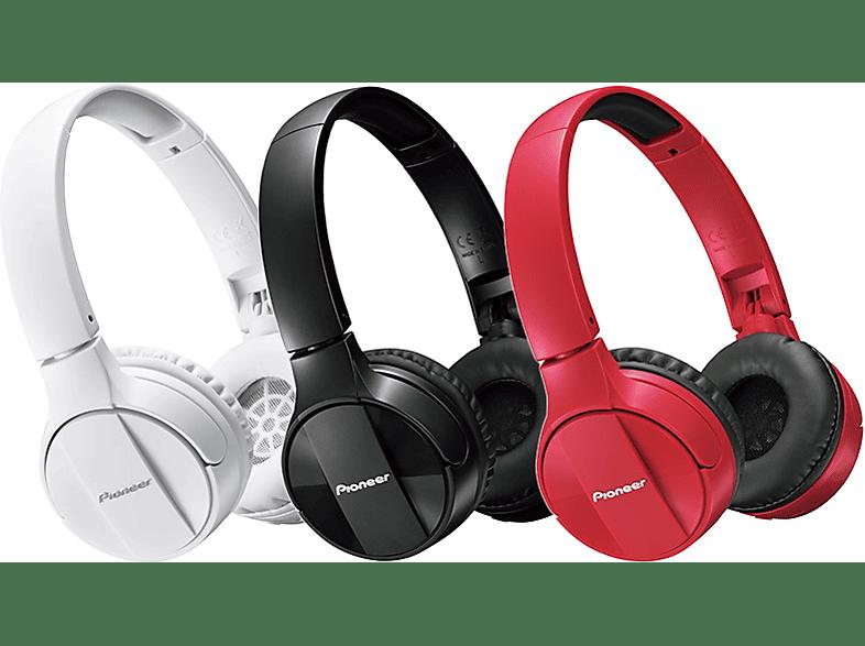 PIONEER SE-MJ553BT-R Bluetooth fejhallgató 6d5b51fee1