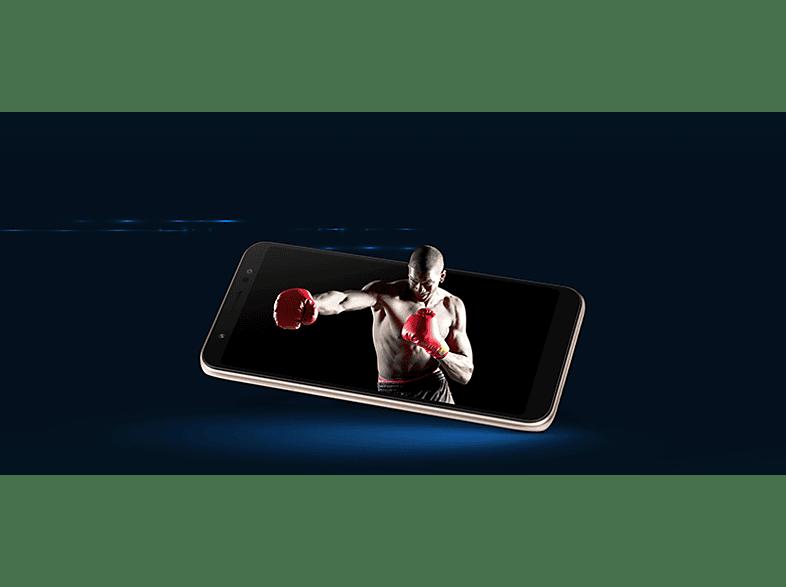 ASUS Zenfone Live Dual SIM arany kártyafüggetlen okostelefon (ZA550KL-4G006EU)