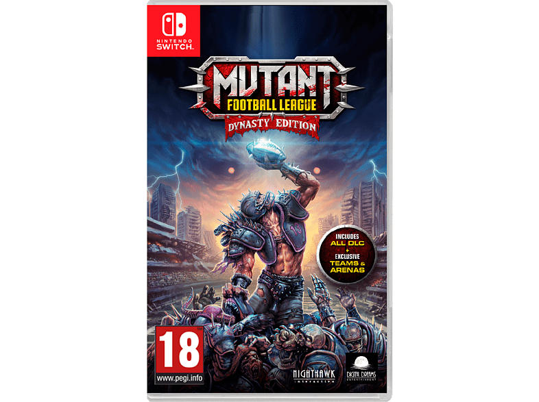 Mutant Football League Nintendo Switch gaming games switch games