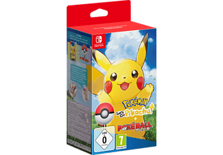 Pokémon: Lets Go, Pikachu! + Pokéball Plus - Nintendo Switch