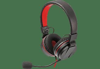 SNAKEBYTE Stereo HEADSET S™ für Nintendo Switch - FORTNITE Kompatibel, Nintendo Switch Headset, Schwarz/Rot