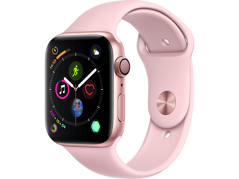 APPLE Watch Series 4 44mm Gold με Pink Sand Sport Band smartphones   smartliving wearables smartwatches