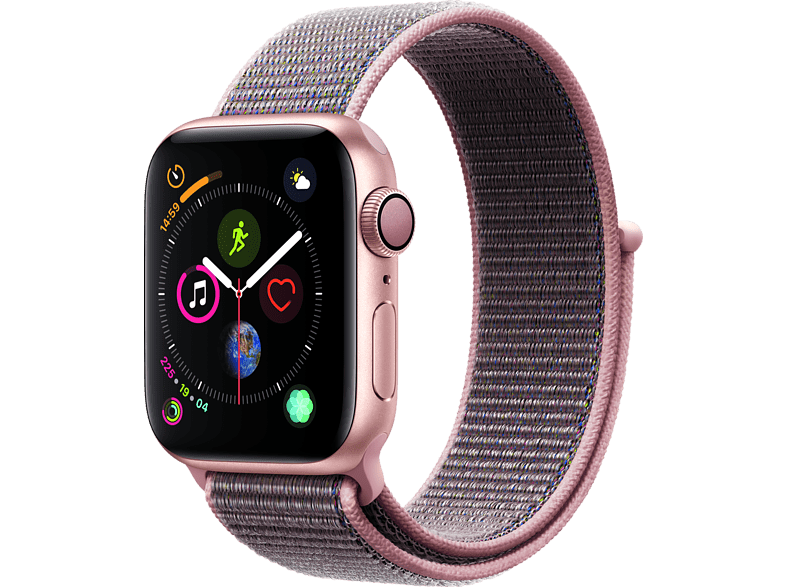 APPLE Watch Series 4 40mm Gold με Pink Sand Sport Loop smartphones   smartliving wearables smartwatches