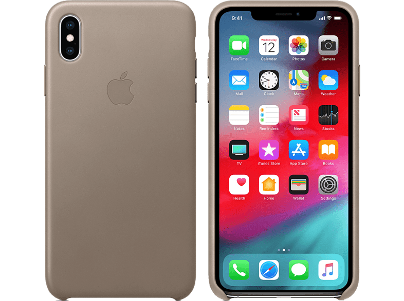APPLE iPhone XS / X Leather Case - Taupe smartphones   smartliving iphone θήκες iphone