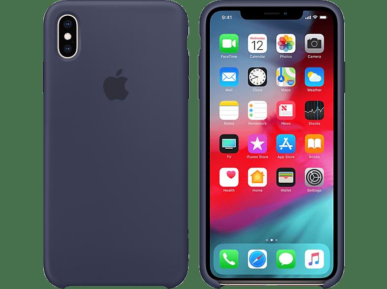 APPLE iPhone XS / Χ Silicone Case - Midnight Blue smartphones   smartliving iphone θήκες iphone