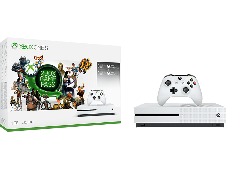 MICROSOFT Xbox One S 1TB Starter Bundle gaming κονσόλες κονσόλες xbox one