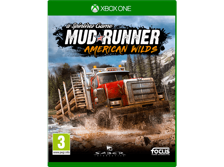 Spintires Mudrunner American Wilds Edition Xbox One gaming games xbox one games