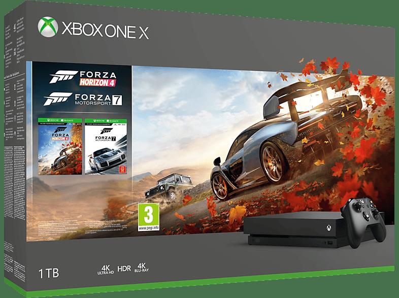 MICROSOFT Xbox One X 1TB Forza Horizon 4 και Forza Motorsport 7 gaming κονσόλες κονσόλες xbox one