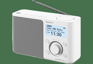 DAB+ Transistorradio Sony XDR-S61D AUX, DAB+, FM Wit