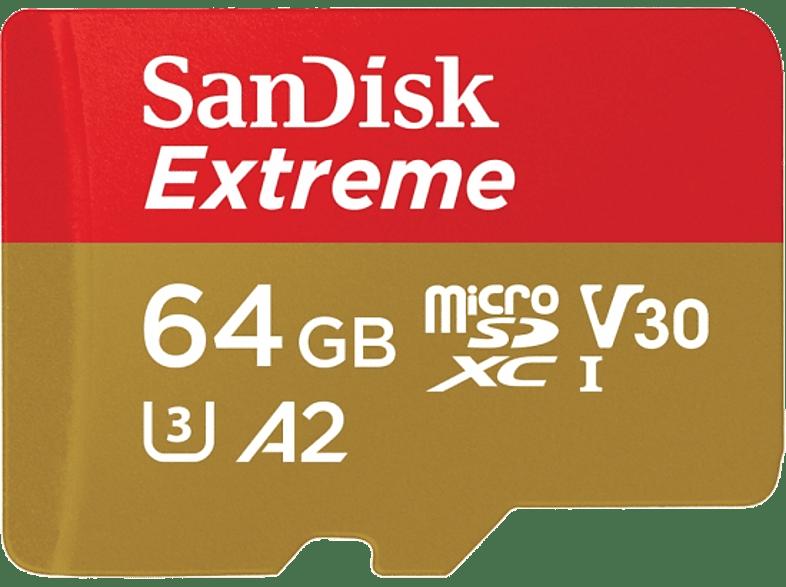 SAN DISK SANDISK 64GB MICRO SD EXTREME 90 MB/sec smartphones   smartliving αξεσουάρ κινητών κάρτες μνήμης