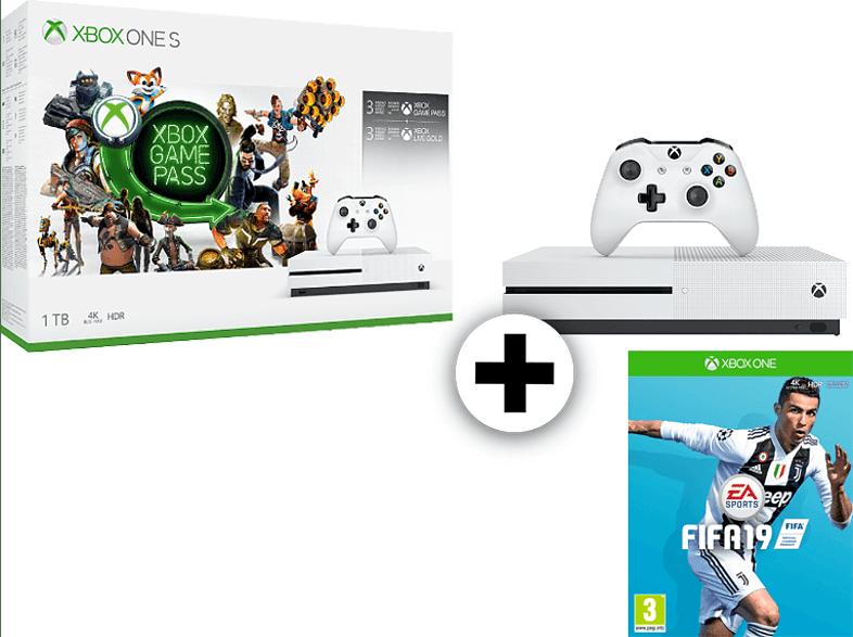 MICROSOFT Set Xbox One S 1TB Starter BNDL μαζί με Fifa 19 gaming κονσόλες κονσόλες xbox one