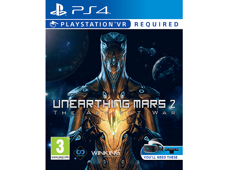Unearthing Mars 2 VR PlayStation 4 gaming games ps4 games