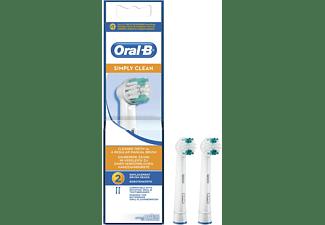 Oral B Opzetborstels Simly Clean Eb17b Stuk