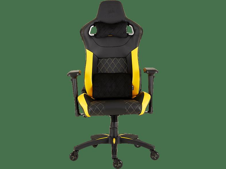 CORSAIR T1 Race 2018 Yellow gaming απογείωσε την gaming εμπειρία gaming chairs