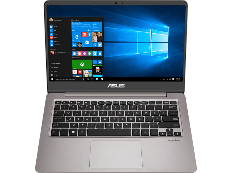 ASUS Zenbook UX410UA-GV151T Intel Core i3-7100U/4GB/256GB SSD/Full HD laptop  tablet  computing  laptop 2in 1   ultrabook laptop  tablet  computing  l