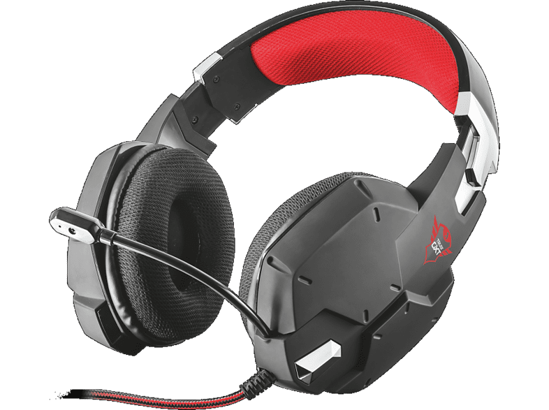 TRUST GXT 322 Carus Gaming Headset - black gaming απογείωσε την gaming εμπειρία ακουστικά gaming laptop  tablet  computing