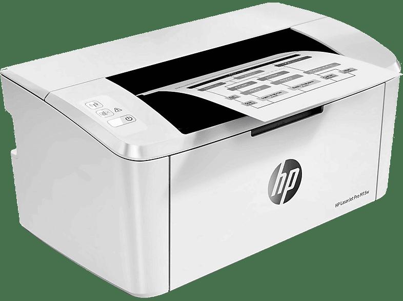 HP LaserJet Pro M15w - Μονόχρωμος Laser Εκτυπωτής