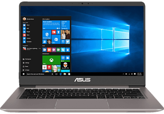 ASUS UX3410UA-GV380T, Notebook, Core™ i7 Prozessor, 8 GB RAM, 1 TB HDD, 256 GB SSD, Intel® UHD-Grafik 620, Quartz Grey