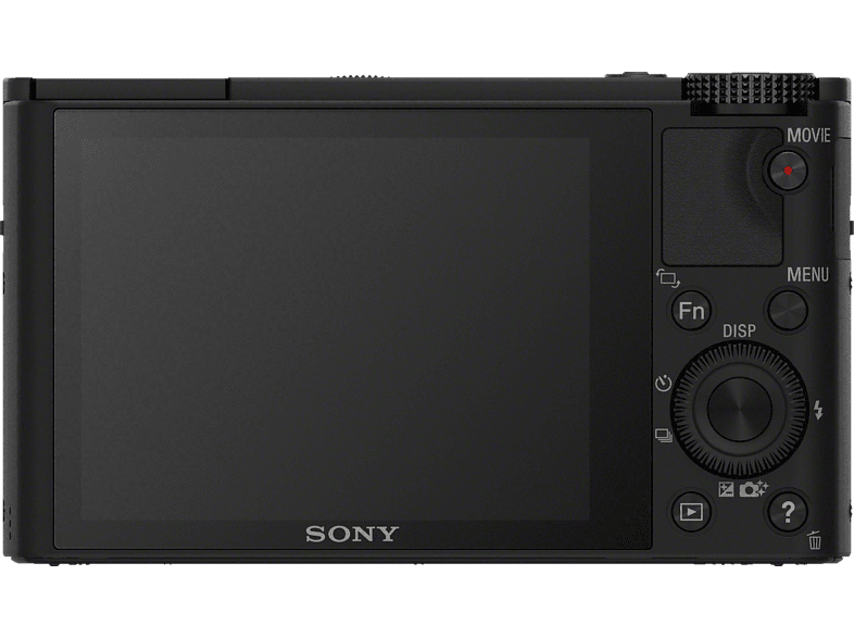 SONY Cyber-shot DSC-RX100 I Zeiss Digitalkamera, 20.2 Megapixel, 3.6x opt. Zoom, Schwarz