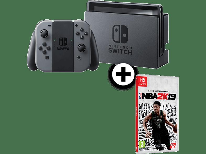NINTENDO Nintendo Switch Grey μαζί με NBA 2K19 gaming κονσόλες κονσόλες nintendo