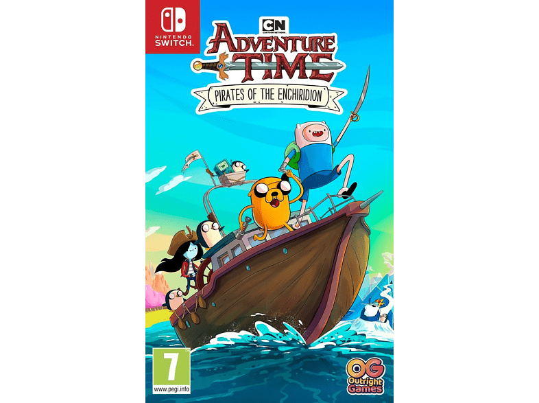Adventure Time Pirates of the Enchiridion Nintendo Switch gaming games switch games