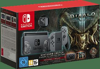 NINTENDO Switch Konsole - Diablo III Edition Spielekonsole, Grau, 32 GB