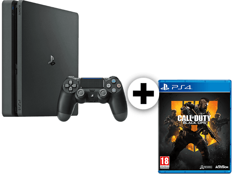 SONY Set PS4 500GB F Chassis μαζί με Call Of Duty Black Ops IV gaming κονσόλες κονσόλες ps4
