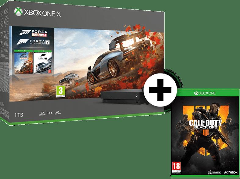 MICROSOFT Set Xbox One X 1TB Forza Horizon 4 και Forza Motorsport 7 μαζί με Call gaming κονσόλες κονσόλες xbox one