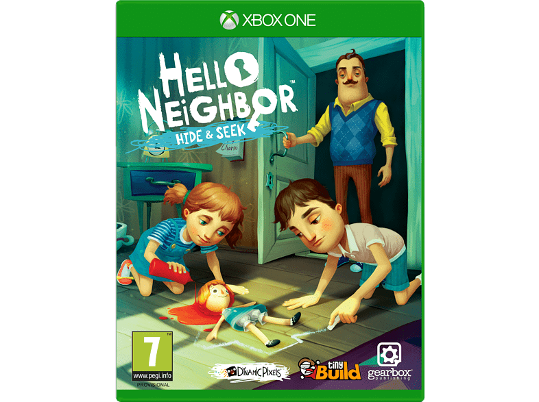 Hello Neighbor Hide n Seek Xbox One gaming games xbox one games