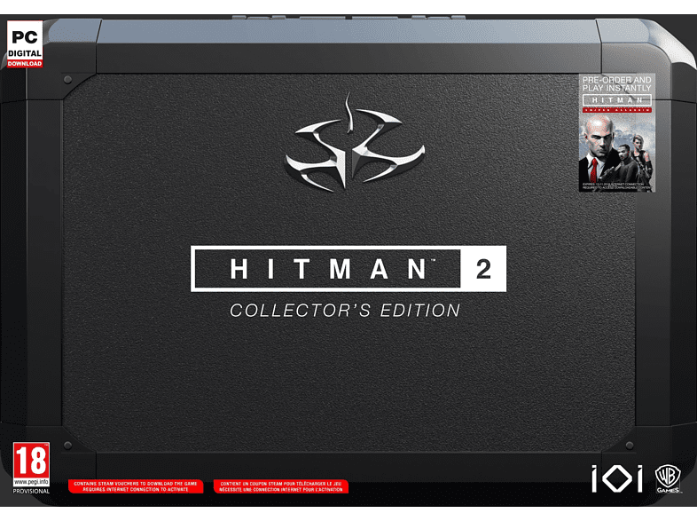 Hitman 2 Collectors Edition PC gaming games pc games