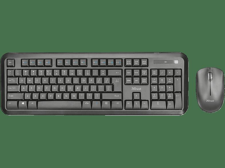 TRUST Nova Wireless Keyboard & Mouse 23015 laptop  tablet  computing  περιφερειακά πληκτρολόγια   ποντίκια