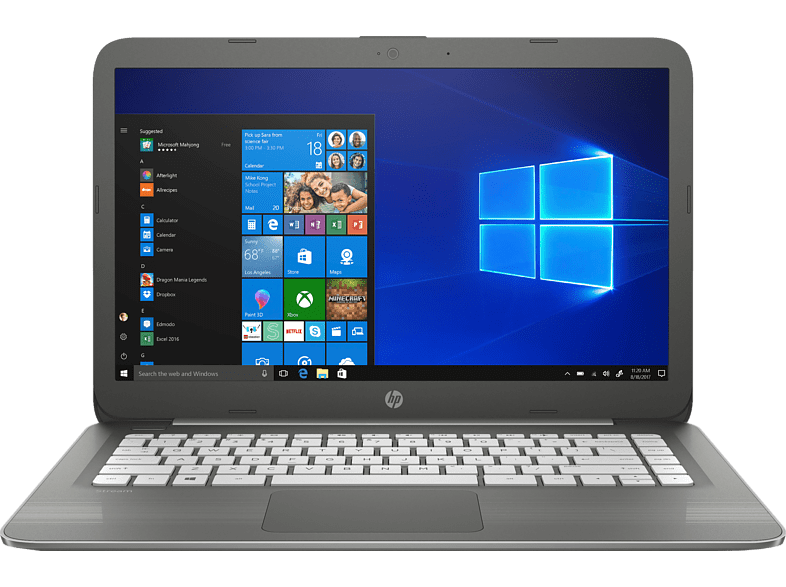 HP Stream - 14-cb061nv Intel N3060 / 4GB / 64GB eMMC - Blue laptop  tablet  computing  laptop laptop έως 14