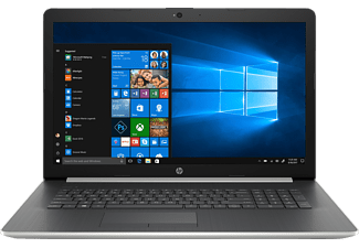 HP 17-by1304ng, Notebook mit 17.3 Zoll Display, Core™ i7 Prozessor, 8 GB RAM, 1 TB HDD, 256 GB SSD, AMD Radeon 530, Silber