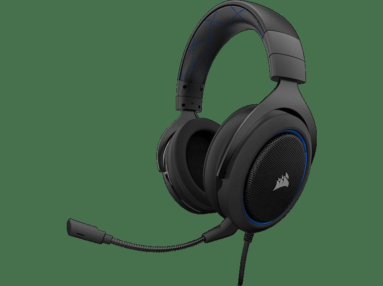 CORSAIR HS 50 Blue gaming απογείωσε την gaming εμπειρία ακουστικά gaming