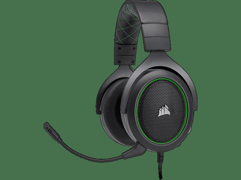 CORSAIR HS 50 Green gaming απογείωσε την gaming εμπειρία ακουστικά gaming