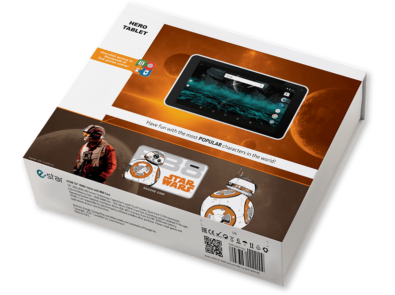 ESTAR Themed Tablet 7 inches 4core 8GB WiFi - BB8 Robot Case laptop  tablet  computing  tablet   ipad android tablet