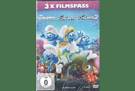 Die Schlümpfe 3er Box (Die Schlümpfe - Das verlorene Dorf, Die Schlümpfe 2, Die Schlümpfe) - (DVD)
